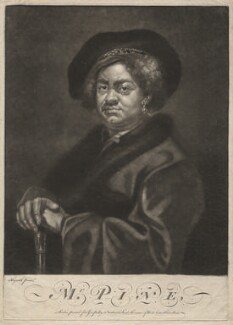 John Pine, possibly by James Macardell, after  William Hogarth - NPG D3888