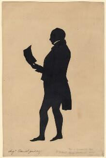 Ashurst Turner Gilbert, by Augustin Edouart - NPG D389