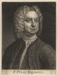 Thomas Pingo Sr, by John Carwitham, after  R.A. Holland - NPG D3908