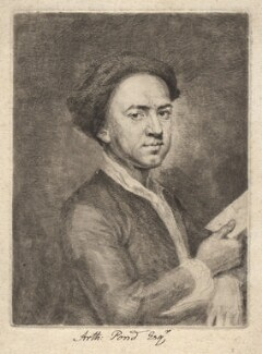 Arthur Pond, by Arthur Pond - NPG D3919