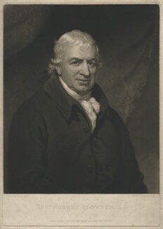 Robert Plowden, by Charles Turner, after  Mather Brown - NPG D3926
