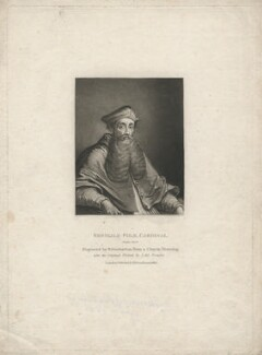 Reginald Pole, by Robert Dunkarton, after  Sebastiano del Piombo - NPG D3932