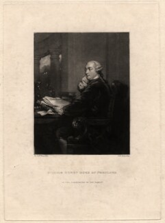 William Henry Cavendish Bentinck, 3rd Duke of Portland, by Samuel William Reynolds, after  Sir Joshua Reynolds - NPG D3936