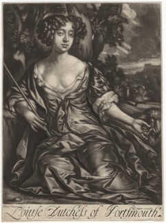 Louise de Kéroualle, Duchess of Portsmouth, published by Richard Tompson, after  Sir Peter Lely, 1678-1679 (circa 1671) - NPG  - © National Portrait Gallery, London