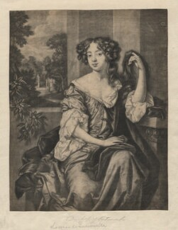 Louise de Kéroualle, Duchess of Portsmouth, by Paul van Somer, after  Sir Peter Lely - NPG D3940