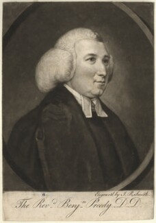 Benjamin Preedy, by John Raphael Smith, after  Unknown artist - NPG D3949