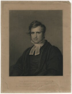 John Rashdall, by Samuel Cousins, published by and after  James Leakey - NPG D3957