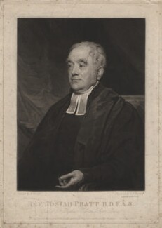Josiah Pratt, by Samuel William Reynolds, published by  Dobbs & Co, after  Henry Wyatt - NPG D3966
