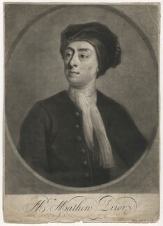 Matthew Prior, by John Simon, after  Jonathan Richardson - NPG D3973