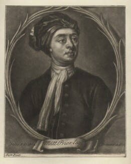 Matthew Prior, by Francis Kyte, after  Jonathan Richardson - NPG D3975