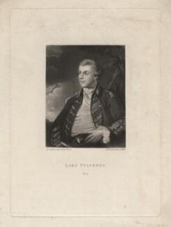 William Pulteney, Viscount Pulteney, by Samuel William Reynolds, after  Sir Joshua Reynolds - NPG D3978