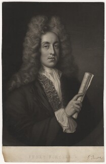 Henry Purcell, by George Zobel, after  John Closterman - NPG D3979