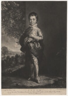 Jacob Pleydell-Bouverie, 2nd Earl of Radnor, by James Macardell, after  Sir Joshua Reynolds - NPG D3981