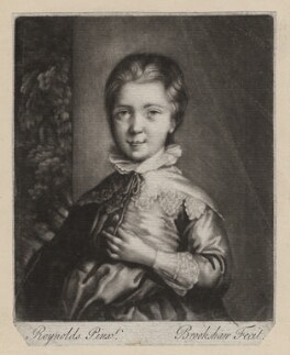Jacob Pleydell-Bouverie, 2nd Earl of Radnor, by Richard Brookshaw, after  Sir Joshua Reynolds - NPG D3982
