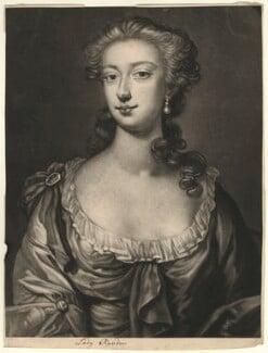 Lady Helena Rawdon (née Perceval), by John Brooks, after  James Latham - NPG D3993