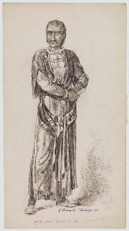 Edwin Booth as Othello, by Bernard Partridge - NPG D40