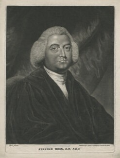 Abraham Rees, published by Edward Evans, after  John Opie - NPG D4002