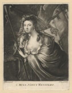 Nancy Reynolds, by Samuel Okey, after  J. Williams - NPG D4006
