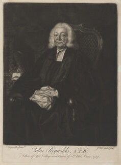 John Reynolds, by James Macardell, after  Sir Joshua Reynolds - NPG D4016