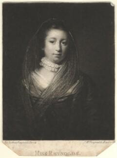 Frances Reynolds, by Samuel William Reynolds, after  Sir Joshua Reynolds - NPG D4018
