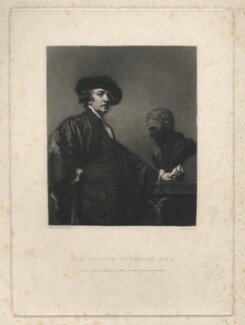 Sir Joshua Reynolds, by Samuel William Reynolds, after  Sir Joshua Reynolds, published 1834 (1780) - NPG D4020 - © National Portrait Gallery, London