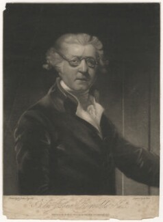 Sir Joshua Reynolds, by George Clint, published by  Lewis Wells, after  Sir Joshua Reynolds - NPG D4021