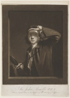 Sir Joshua Reynolds, by Samuel William Reynolds, published by  Peter Brown, after  Sir Joshua Reynolds, published 1 January 1796 (circa 1747-1749) - NPG D4022 - © National Portrait Gallery, London