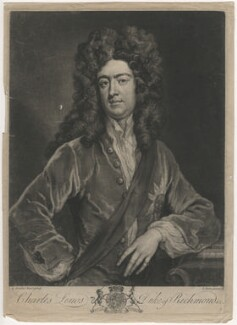Charles Lennox, 1st Duke of Richmond and Lennox, by John Faber Jr, after  Sir Godfrey Kneller, Bt - NPG D4029