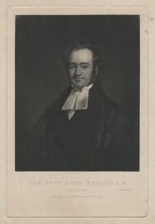 John Robson, by John B. Bird, printed by  Alexander McGlashon (McGlashan), published by  Thomas Thomson - NPG D4036