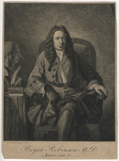 Bryan Robinson, by Benjamin Wilson - NPG D4037