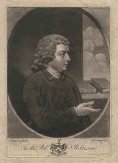 Robert Robinson, by Jonathan Spilsbury, after  John Downman - NPG D4039