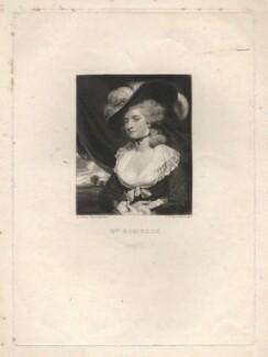 Mary Robinson (née Darby), by Samuel William Reynolds, after  Sir Joshua Reynolds - NPG D4040