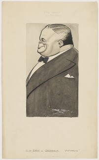 Sir Eric Campbell Geddes, by Fred May - NPG D4053