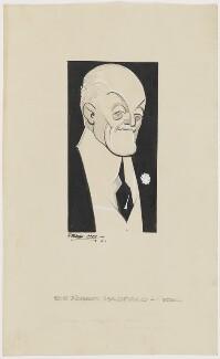 Sir Robert Abbott Hadfield, 1st Bt, by Fred May - NPG D4054