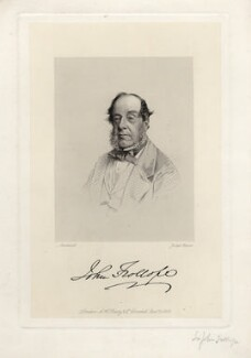 John Trollope, 1st Baron Kesteven, by Joseph Brown, published by  A.H. Baily & Co, after a photograph by  Southwell Brothers - NPG D4059