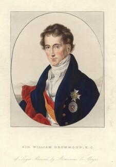 Sir William Drummond, after Arminius Mayer - NPG D4063
