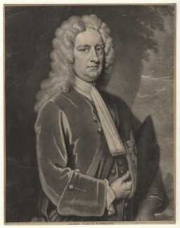 Charles Spencer, 3rd Earl of Sunderland, by John Simon, after  Sir Godfrey Kneller, Bt - NPG D4078