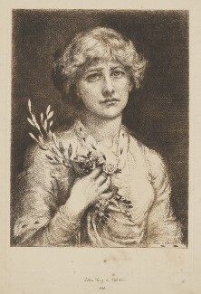Ellen Terry as Ophelia, by Anna Lea Merritt - NPG D4091