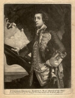 George Bridges Rodney, 1st Baron Rodney, published by Robert Sayer, published by  John Bennett, after  Sir Joshua Reynolds - NPG D4096