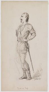 Edwin Booth as Iago, by Bernard Partridge - NPG D41