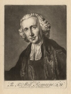 William Romaine, printed for John Bowles, after  Francis Cotes - NPG D4101