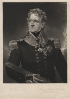 Sir Charles Rowley, Bt, by John Richardson Jackson, published by  Henry Graves & Co, after  George Sanders (Saunders) - NPG D4117