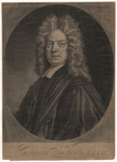 Henry Sacheverell, by Andrew Johnston, published by  Philip Overton, after  Thomas Gibson - NPG D4125