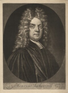 Henry Sacheverell, by and published by Pieter Schenck, after  Thomas Gibson - NPG D4126
