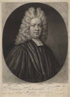 Henry Sacheverell, by John Smith, after  Anthony Russel - NPG D4128
