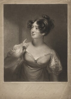 Harriot Beauclerk (née Mellon), Duchess of St Albans, by Charles Turner, after  Sir William Beechey, published 1806 - NPG D4131 - © National Portrait Gallery, London