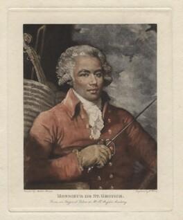 Monsieur de St George, after William Ward, after  Mather Brown - NPG D4132