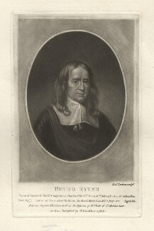Bruno Ryves, by Richard Earlom, after  Unknown artist - NPG D4146