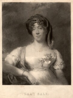 Florentia (née Wynch), Lady Sale, by William James Ward, after  Sir Thomas Lawrence - NPG D4150