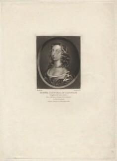 Jemimah Montagu (née Crew), Countess of Sandwich, by Robert Dunkarton, after  Samuel Cooper - NPG D4157
